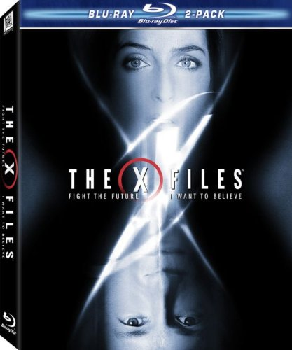Cover art for  The X-Files Movie 2-Pack (Fight the Future / I Want to Believe) [Blu-ray]