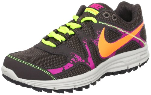 Nike Women's NIKE LUNARFLY+ 3 TRAIL WMNS RUNNING SHOESS 7 (RDGRCK/TTL ORNG/BLK T/FRBRRY)