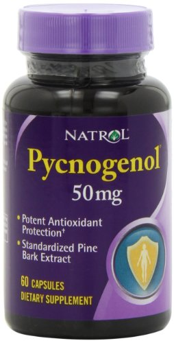 Natrol Pycnogenol 50mg Capsules, 60-Count