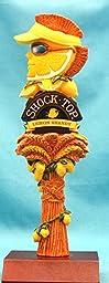 Shock Top Lemon Shandy 8in Resin Tap Knob w Display Stand
