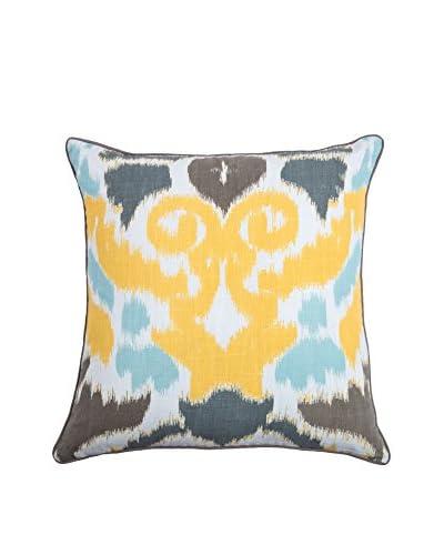 Rizzy Home Yellow Hari Throw Pillow