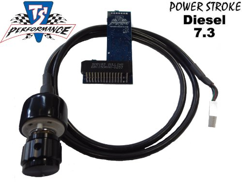 Ford Powerstroke Diesel 7.3 1994-2003 Ts Performance 6 Position Chip With Knob 140+ Hp
