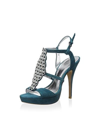 Pelle Moda Women's Fiby Platform Sandal  [Teal]