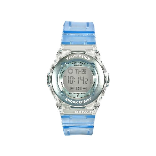 Baby-G Blue and Grey Ladies Watch - BG-1302-2ER