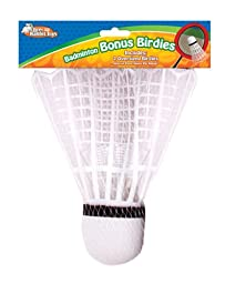 Brer Rabbit Toys Bonus Extra Large Badminton Birdies