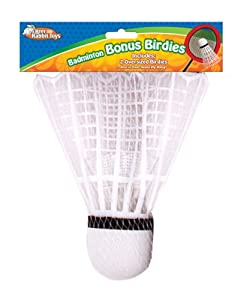 Buy Brer Rabbit Toys Bonus Extra Large Badminton Birdies by Brer Rabbit Toys
