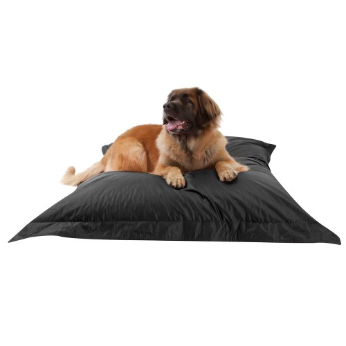 dogbagz-giant-dog-bed-180cm-x-140cm-100-water-resistant-dog-bean-bags-black-no-dog-too-big