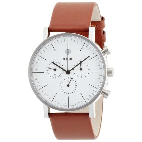 [エービーアート]a.b.art 腕時計 series OC OC 101 W BR/S メンズ 【正規輸入品】