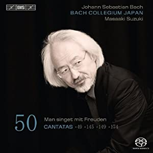 Bach: Cantatas Vol. 50 (49, 145, 149, 174)