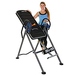 Ironman iControl 500 Disk Brake System Inversion Table with Air Tech Backrest