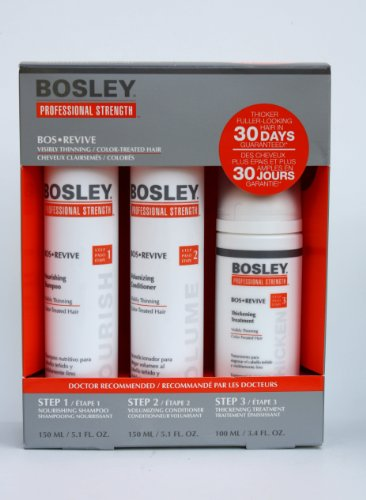 Cheap Bosley Revive Starter Pack for Visibly Thinning / Color-Treated Hair 3pc