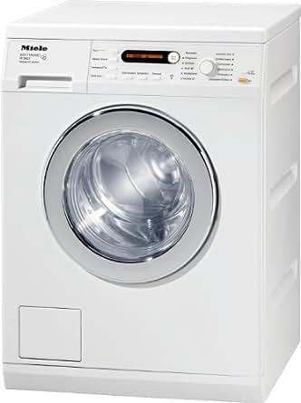 Miele W 5821 WPS Waschmaschine Frontlader / A+++ / 1400 UpM / 7 kg / Lotosweiß / Schontrommel / Restzeitanzeige