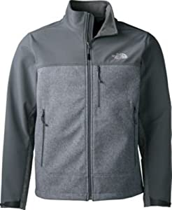 The North Face Men's Apex Bionic Softshell Jacket (XX-Large, High Rise Grey Heather/Vanadis Grey) from The North Face