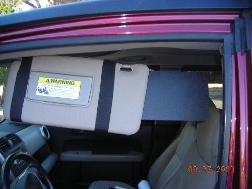 1 Pair 6X13 Black Only Honda Element ,Kia Soul, Ford Flex, Transit And Nissan Juke. front-289748