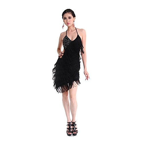 Pilot-trade Women's Latin Rhythm Salsa Ballroom Dance Dress Competition Costume
