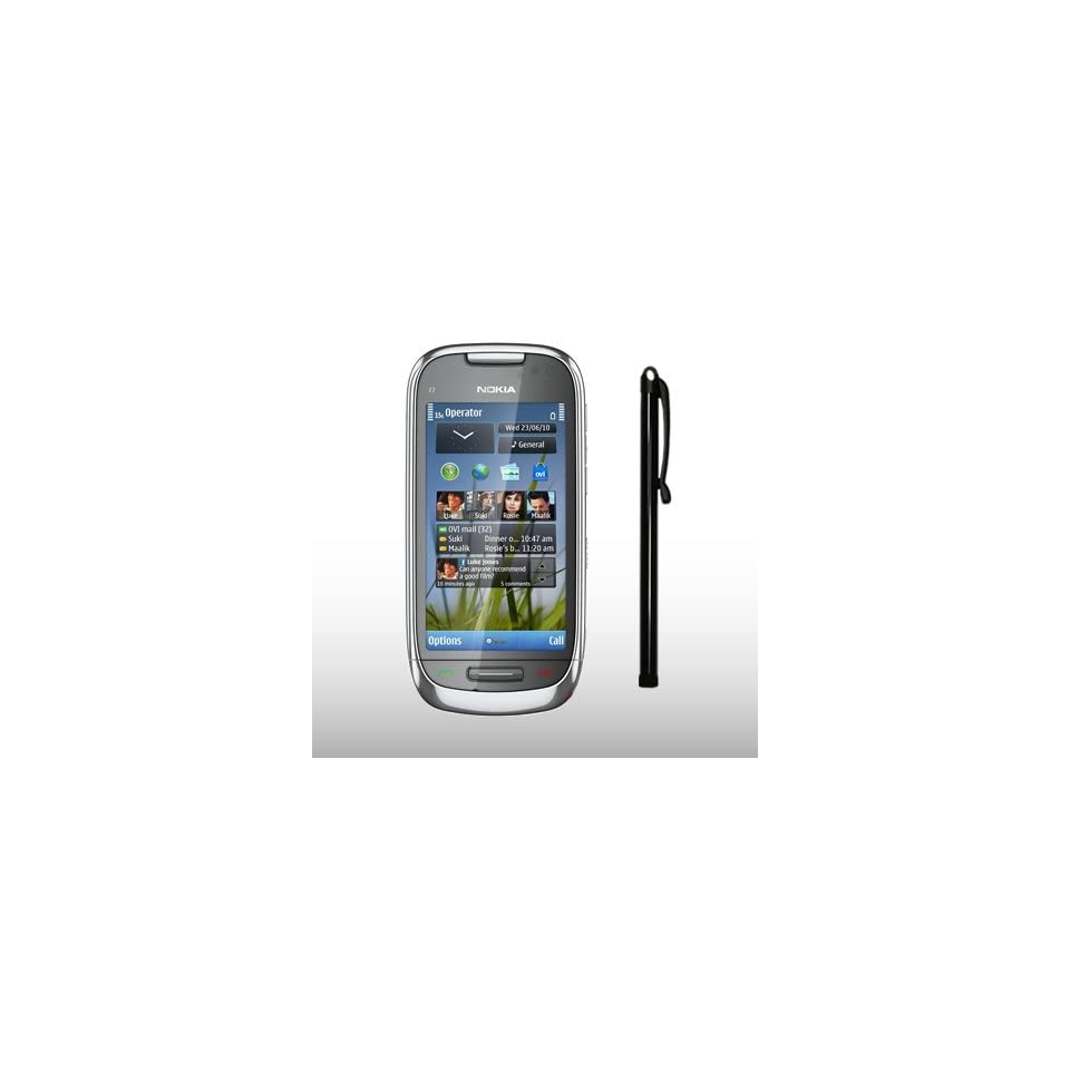 NOKIA C7 00 BLACK CAPACITIVE TOUCH SCREEN STYLUS PEN BY