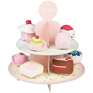 Silver Cross Truly Scrumptious Fabric Cakes with Stand