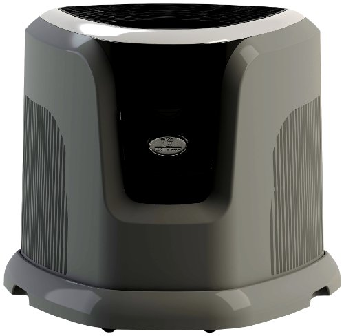 Essick Air EA1201 Digital Whole-House Console-Style Evaporative Humidifier, Mini, Silver and Black Design