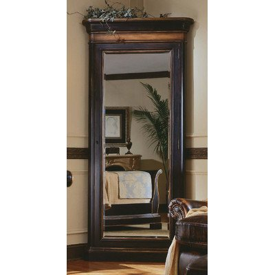 Dark Wood Jewelry Armoire front-1030880