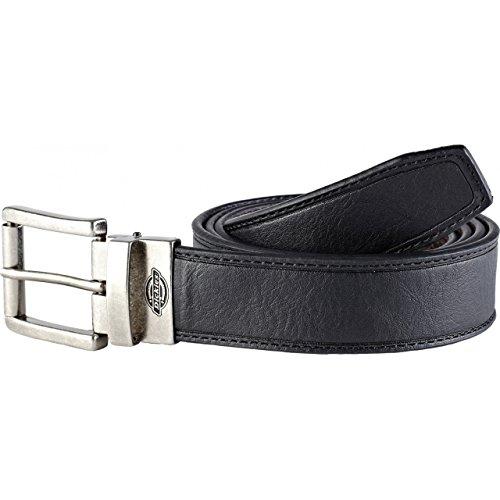 Dickies Ruston - Cintura in pelle reversibile (Nero/Marrone) (Taglia unica) (Nero/Marrone)