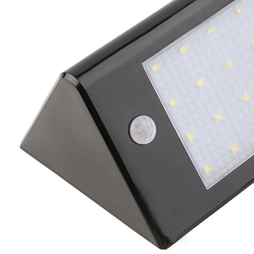 Tsing 16 LED sans fil lampe jardin 2.5w solaire Luminaire mural ...