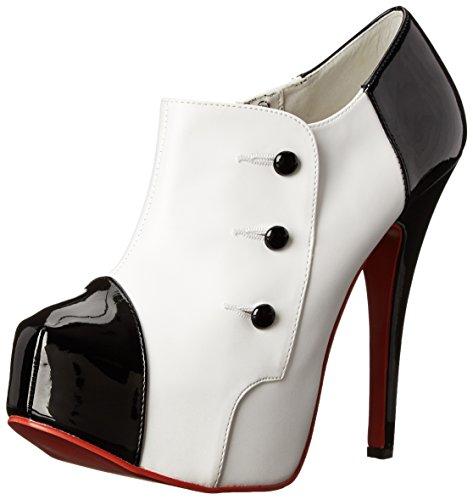 High-Heels-Stiefeletten: Pleaser Teeze-20 Damen Pumps