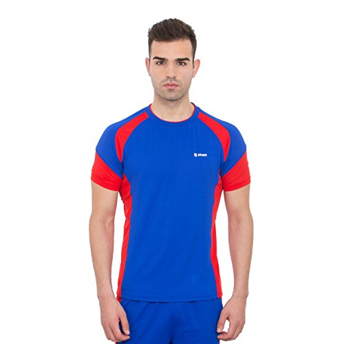 ZEVEN Solid Men's Round Neck Dazzling Blue Football Jersey