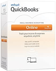 Intuit Quickbooks Online EasyStart, English - Accounting Software [OLD VERSION]
