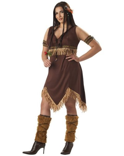 Indian Princess Costume - XX-Large - Dress Size 14-16