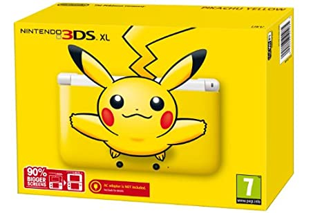 Nintendo Handheld Console 3DS XL - Pikachu Yellow: Limited Edition (Nintendo 3DS)