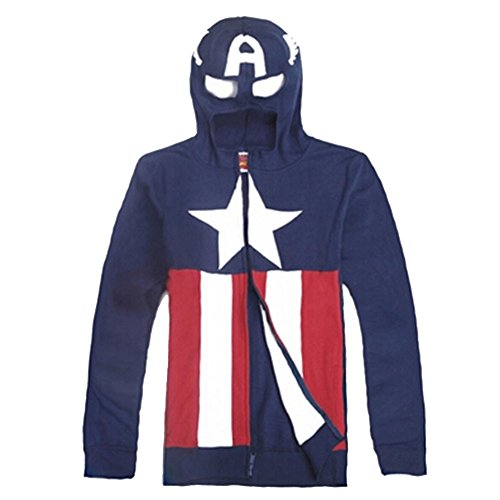 Cosplay Costume Captain America: The Winter Soldier Hoddie for Daily Use