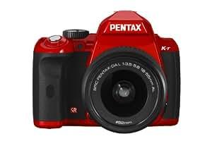 Pentax K-r - Cámara Réflex Digital 1.4 MP (Objetivo 18-55mm da-l ) - Rojo