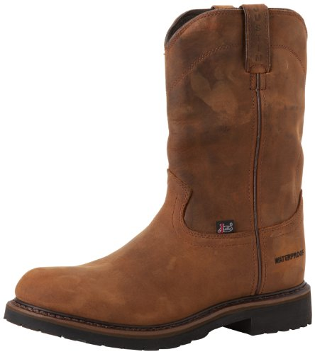 Justin Original Work Boots Men's Worker II WaterProof Wk Work Boot,Wyoming,9 D US