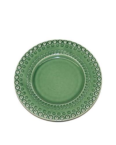 CE Cory Bordallo Dessert Plate, Green