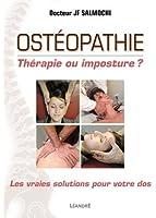 OSTEOPATHIE, THERAPIE OU IMPOSTURE ?