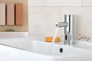 Design Lavabo Robinet Infrarouge Infrared IR Automatique Eau froide