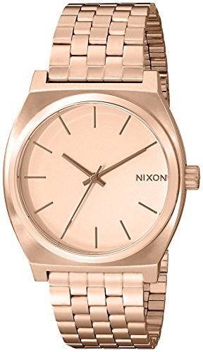 nixon-mens-quartz-watch-the-time-teller-a045897-00-with-metal-strap