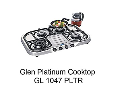 Glen-GL-1047-PL-TR-4-Burner-Ultra-Platinum-Cooktop