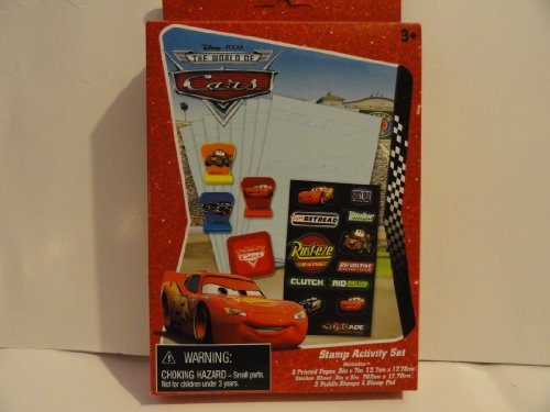 The World of Cars Stamp Activity Set