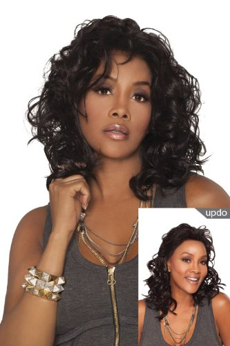 Beverly Johnson Lace Front Wig Joanna - Color #4/27/30 - Light Brown / Blond / Medium Brown Red front-655101