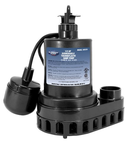 Best Revews Superior Pump 92570 Thermoplastic Sump Pump
