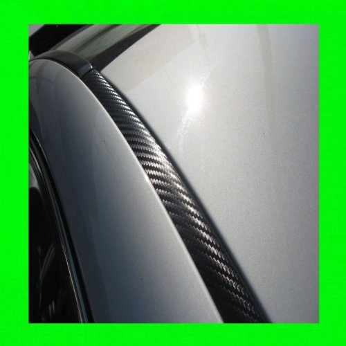 1997-2002 MITSUBISHI MIRAGE CARBON FIBER ROOF TRIM MOLDINGS 2PC 1998 1999 2000 2001 97 98 99 00 01 02 (Mitsubishi Mirage Sticker compare prices)