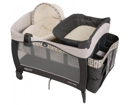 Cheapest Prices! Graco Pack 'N Play with Newborn Napper Elite, Vance