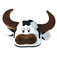 Cow Head Hat Adult by Beistle Company