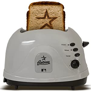 MLB Houston Astros Protoast Team Logo Toaster by Pangea Brands