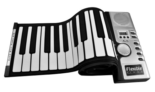Folding Piano 61 Keys Digital Midi Electronic Portable Keyboard Piano