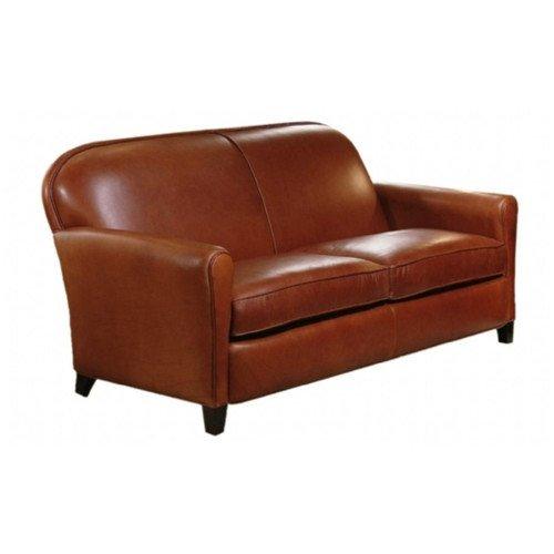 Buenos Aires Leather Sofa Color: Sensations Chestnut