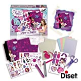 It creates the Violetta Disney Diset journal