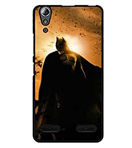 LENOVO A6000 PLUS BACK COVER CASE BY instyler