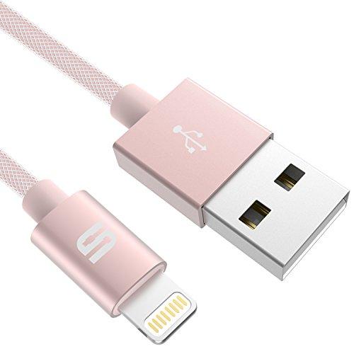[Chargeur MFI certifié Apple] Syncwire Câble Lightning vers USB Nylon